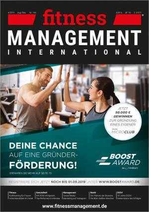 Jahresabo fitness MANAGEMENT international – (6 Ausgaben)
