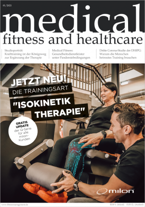 Einzelausgabe medical fitness and healthcare