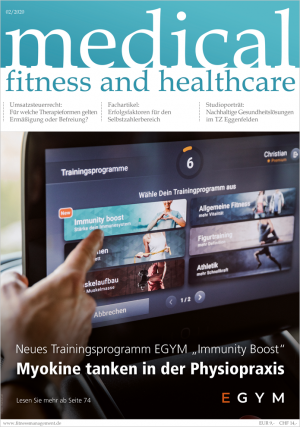 Jahresabo medical fitness and healthcare – (2 Ausgaben)