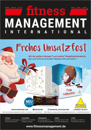 Einzelausgabe fitness MANAGEMENT international